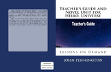 Hello, Universe by Erin Entrada Kelly Teacher's Guide and Novel Unit