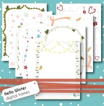 Hello Winter - Digital frames
