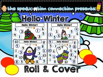 Hello Winter Roll and Cover