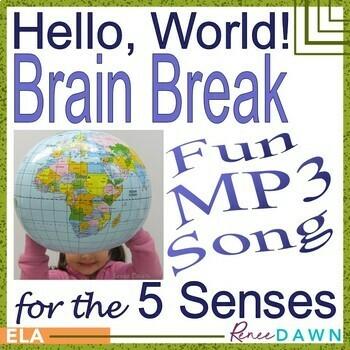 Hello, World! - Brain Break for the 5 Senses MP3
