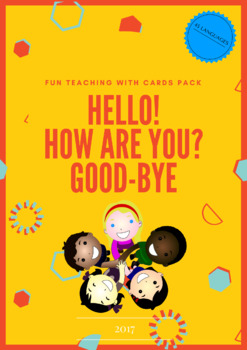 Hello cards pack in 45 languages