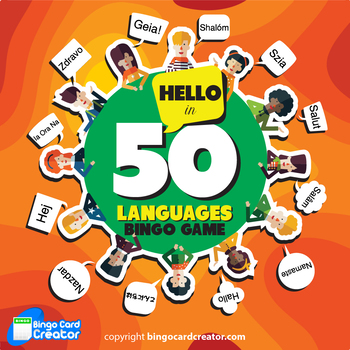 Hello in 50 Languages Bingo 60 Unique