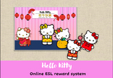 Hello kitty Reward system for Chinese new year /VIPKIDS /