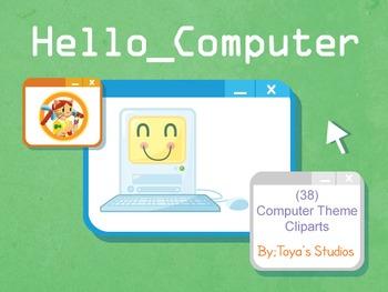 Hello_Computer Clipart