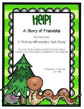 Help! A Story of Friendship Book Study