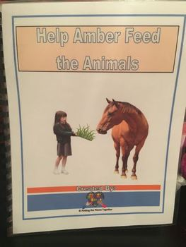 Help Amber Feed the Animals Interactive Book
