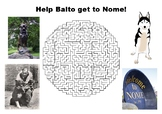 Help Balto get to Nome maze puzzle