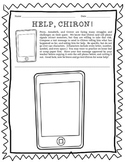 Help, Chiron!  A fun summarizing activity for The Lightning Thief