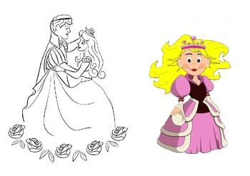 Help Cinderella get to the ball maze puzzle