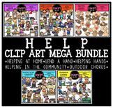 Help Clip Art Mega Bundle {Educlips Clipart}