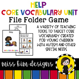 HELP Core Vocabulary Unit for Special Education Teachers