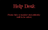 Help Desk Numbers