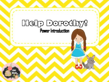 Help Dorothy Power Introduction Maze