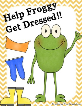 Help Froggy Get Dressed!