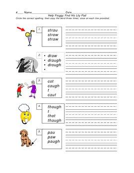 Help Froggy Get Home: Phonics Worksheet