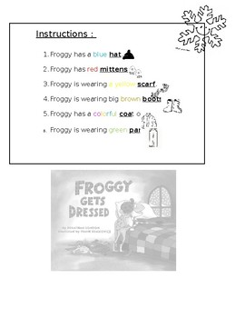 Help Froggy get dressed