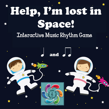 Help! I'm lost in Space! A Music Reading Game-quarter and