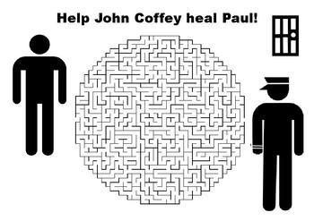 Help John Coffey Heal Paul - The Green Mile maze puzzle