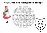 Help Little Red Riding Hood escape maze puzzle