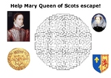 Help Mary Queen of Scots escape maze puzzle
