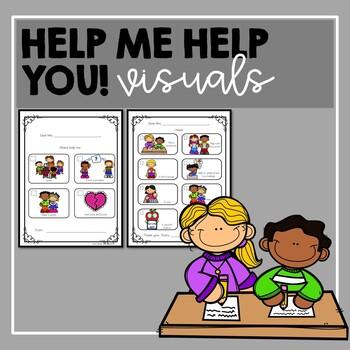 Help Me Help You!- self-advocacy visuals