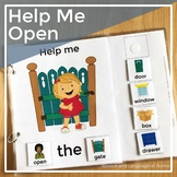 Help Me Open - AAC Core Vocabulary Words Interactive Book