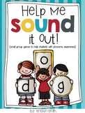 Help Me Sound It Out- {small group games that help with phonemic awareness}