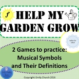 Help My Garden Grow- Music Symbols