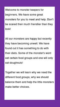 Help! My Monsters Need Vegetables!