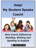 Help!  My Student Speaks Czech!