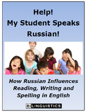 Help!  My Student Speaks Russian!