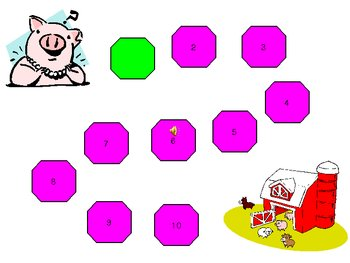 Help Piggy Get Home Phonics Game