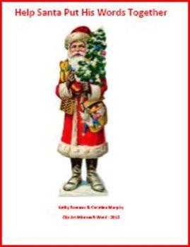 Help Santa Find His Words