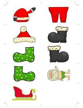 Christmas Speech Therapy Help Santa Game