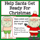 Help Santa Get Ready! | Christmas Open-Ended Game for Speech Therapy