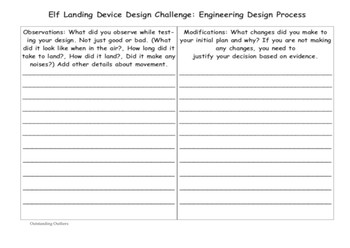 Help Save Christmas! Engineers Wanted to Build an Elf Landing Device!