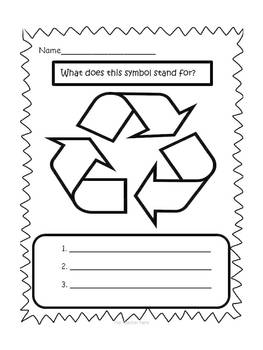 Help Save Our Earth- Emergent Reader