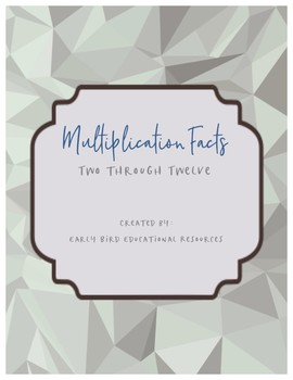 Help Students Memorize their Multiplication Facts 2-12