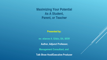 Help Students, Parents, or Teachers Bring Out Their Best