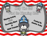 Help The Cat Find Its Rhyming Hat!