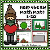 December Activities Math Mats