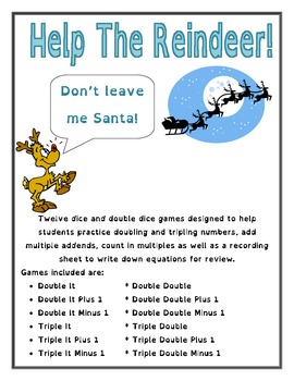 Help The Reindeer - Math Games