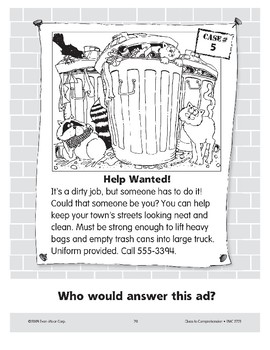 Help Wanted: A Sanitation Worker