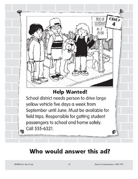 Help Wanted: A School Bus Driver