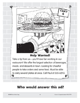 Help Wanted: A Waiter or Waitress