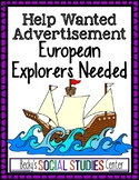 Help Wanted Ad: European Explorers Needed - A Project of the Age of Exploration