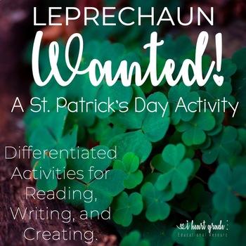 St. Patrick's Day:  Become a Leprechaun Literacy Unit