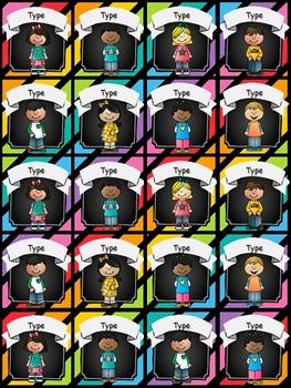 Help Wanted! Classroom Jobs - EDITABLE - (Rainbow and Chalkboard)