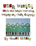 Help Wanted: Elves for Santa's Workshop Writing and Craft Activity