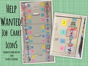 CLASSROOM: Help Wanted- Job Chart Icons